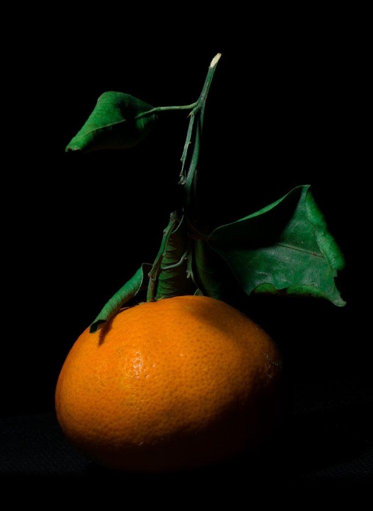 Delicate orange scent