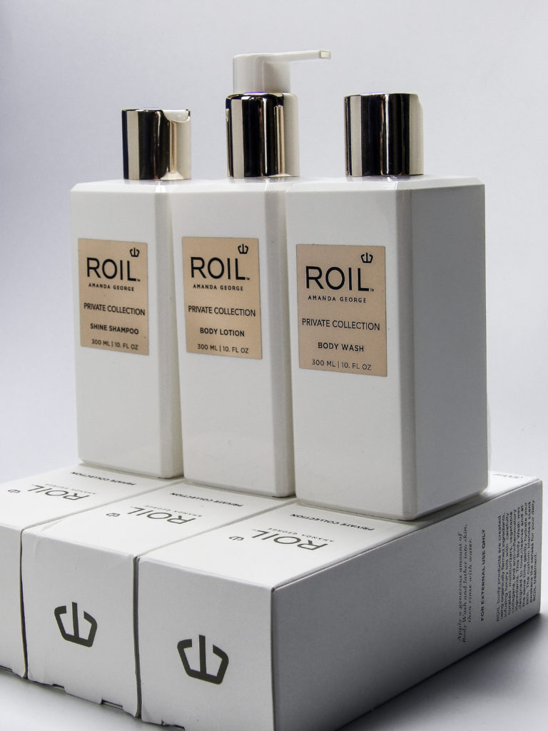 ROIL luxury hair and body care products