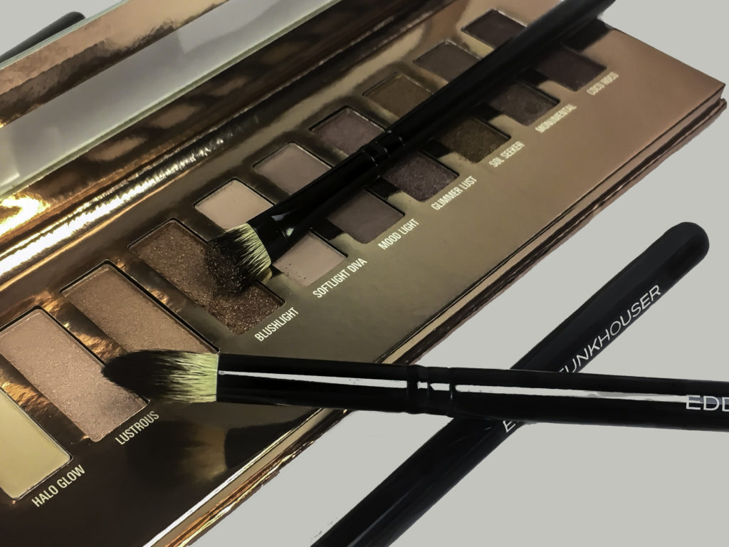 The LuxLight Palette and Essential Eye Brush Set