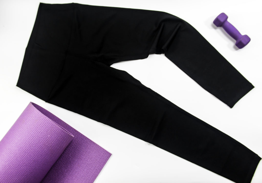 Fantasfit High Waisted Yoga Leggings for yoga, pilates, barre and more
