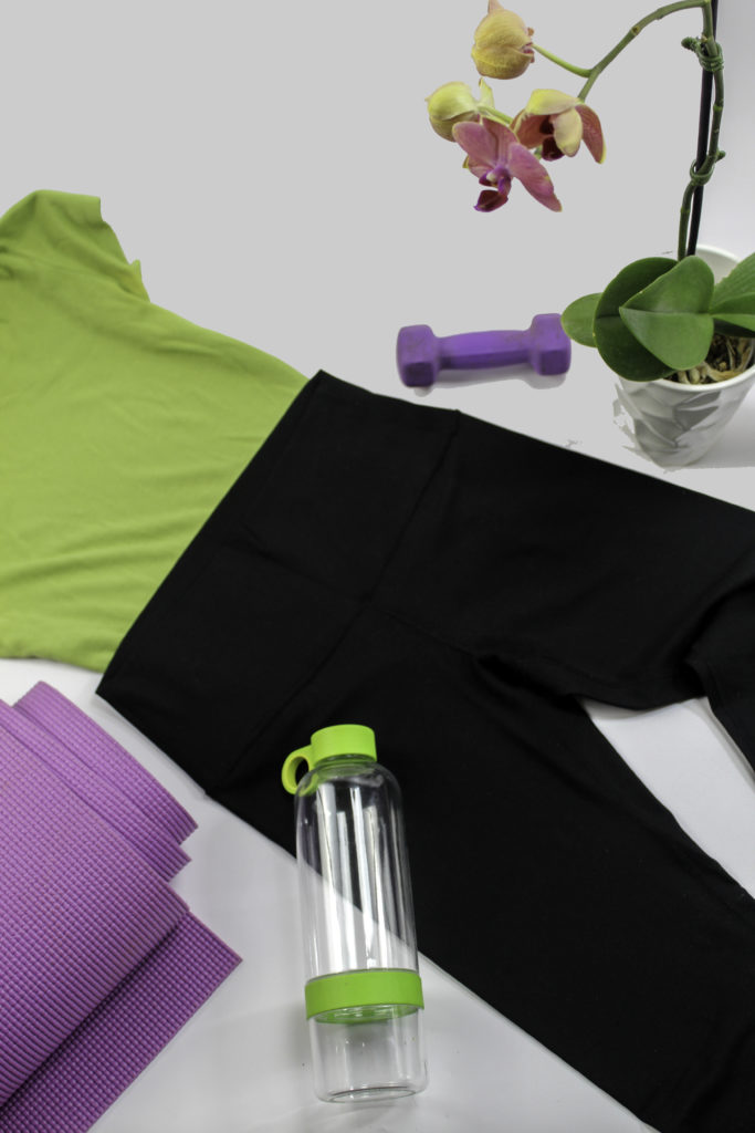 Moisture wicking leggings for yoga, pilates, barre, cycling, and more