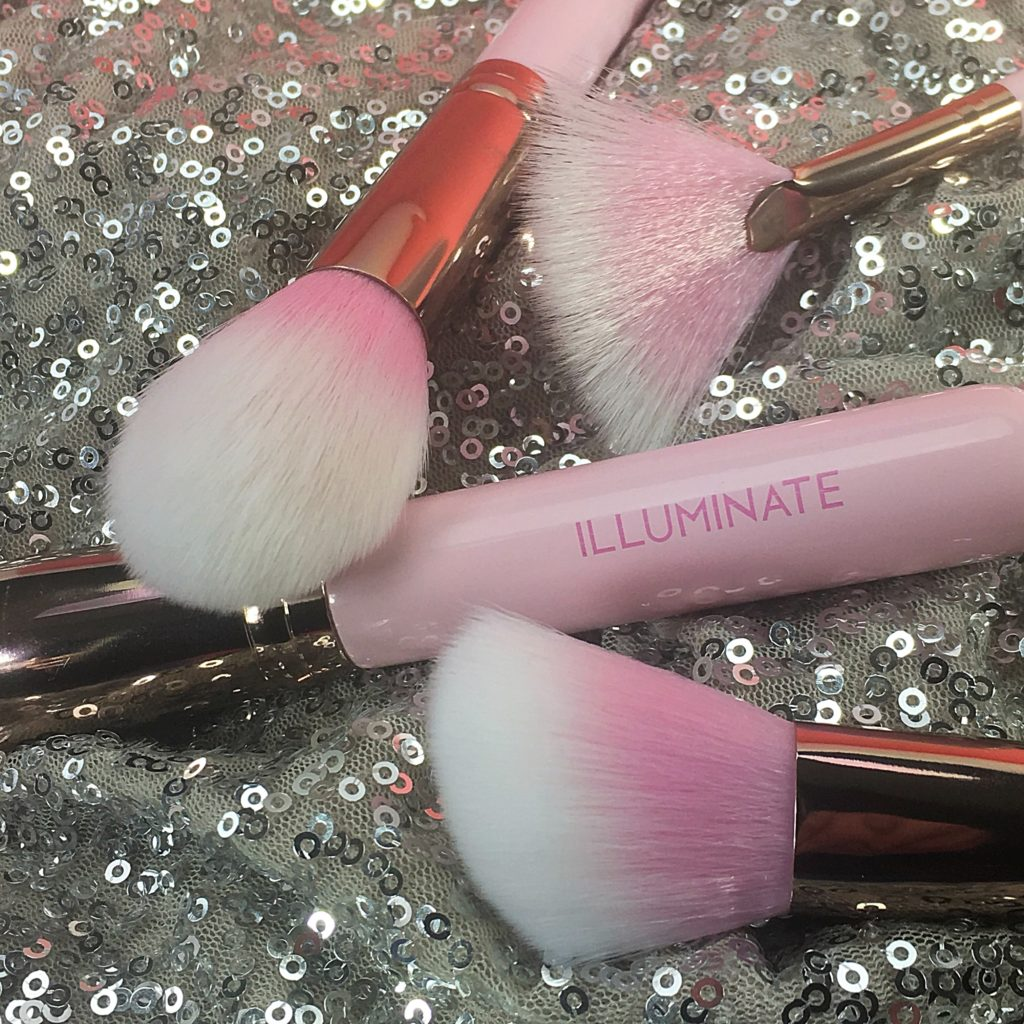 The Pretty In Pink Brush Set by Illuminate