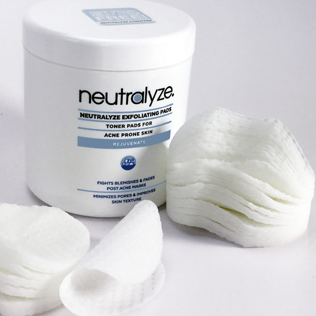 Neutralyze Exfoliating Pads treat even moderate to severe acne in days