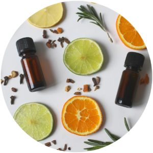 Proprietary blend of essential oils