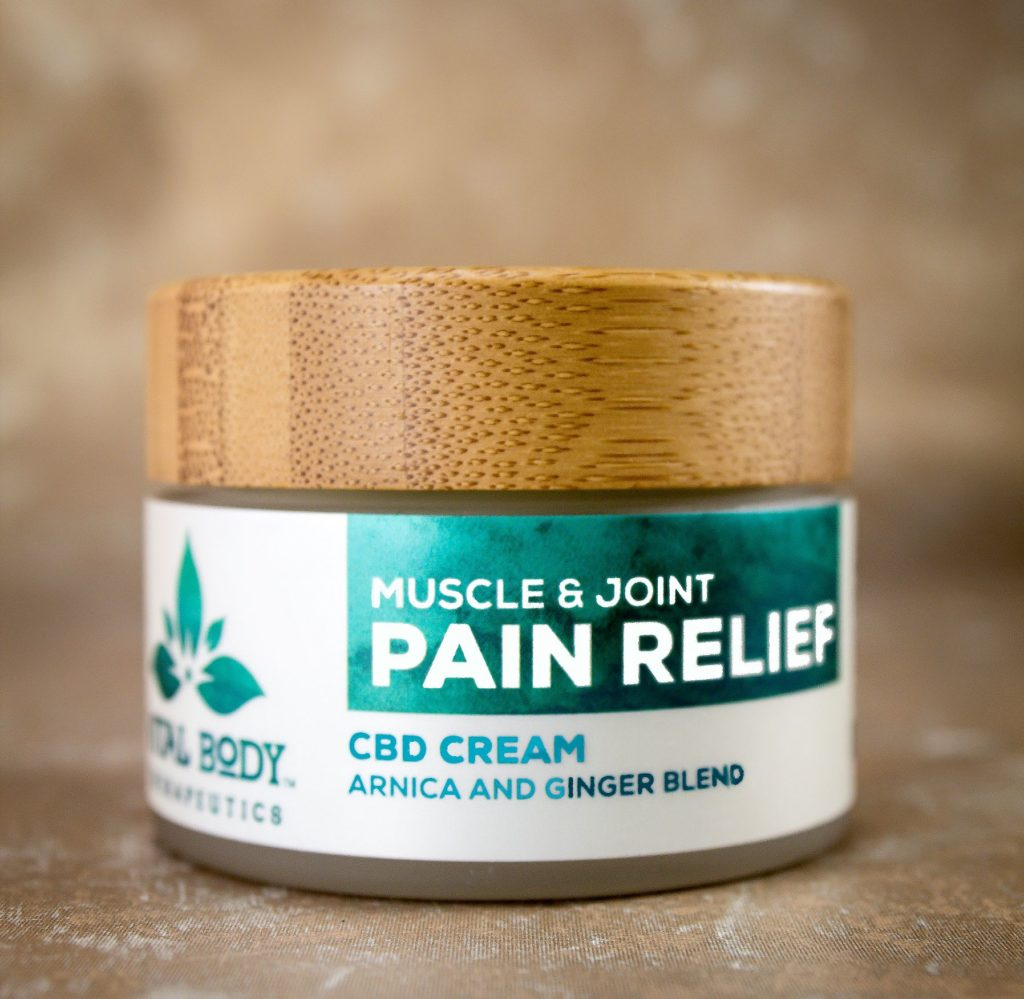Natural Medicine Vital Body Muscle & Joint Pain Relief CBD Cream