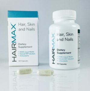 Two capsules a day for optimal hair growth