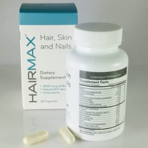Contains research-backed Biotin, Saw Palmetto, MSM, Niacin, and Kelp.
