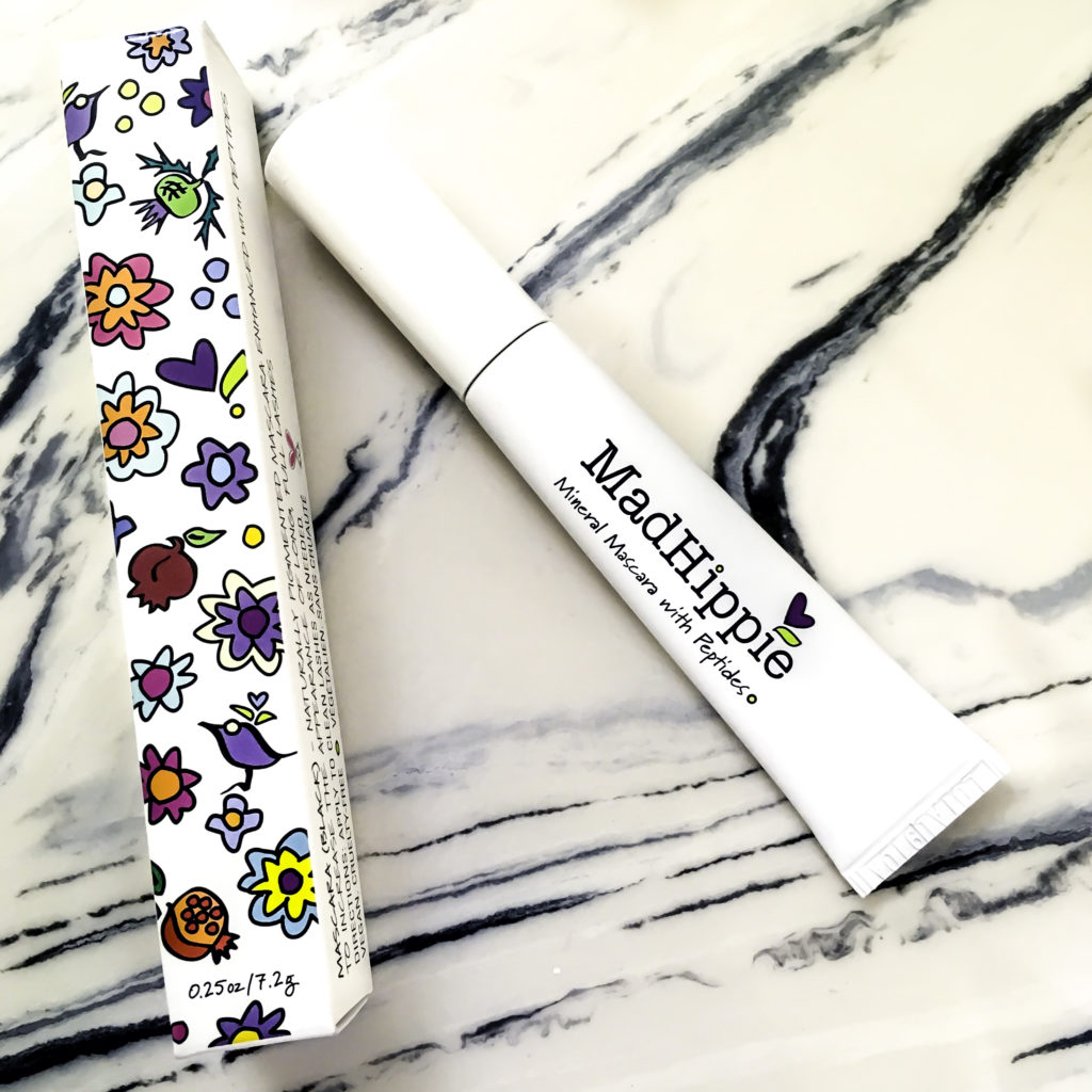 Mad Hippie Mineral Mascara is a lash growth serum in a mascara