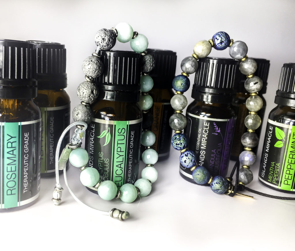 Use your favorite essential oils with LovePray bracelets for aromatherapy on the go!