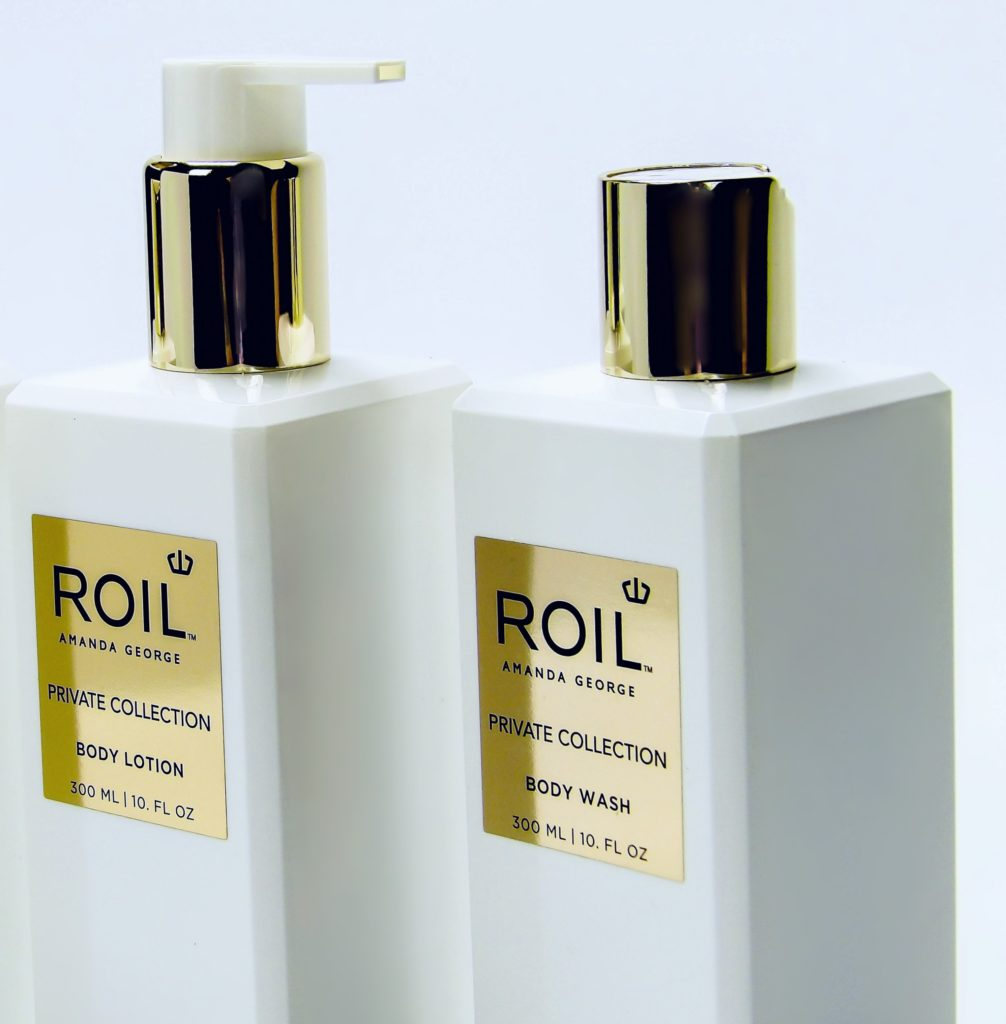 ROIL Private Collection Body Lotion and Body Wash