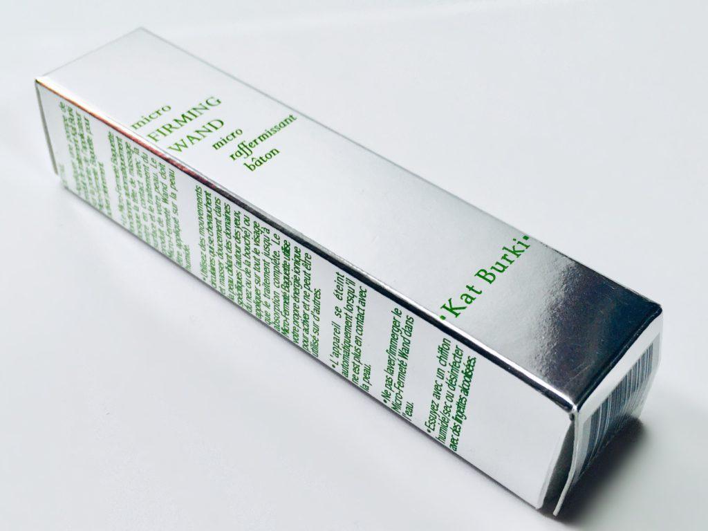Kat Burki wand signature packaging