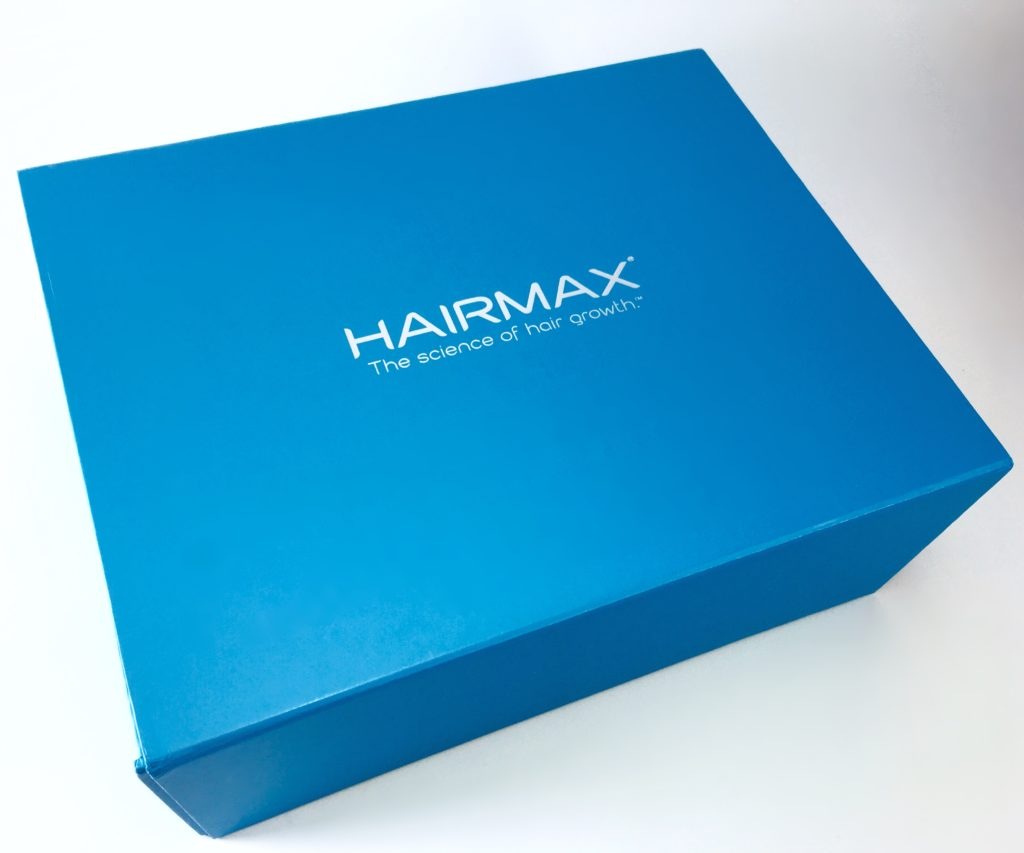 Sturdy Hairmax packaging