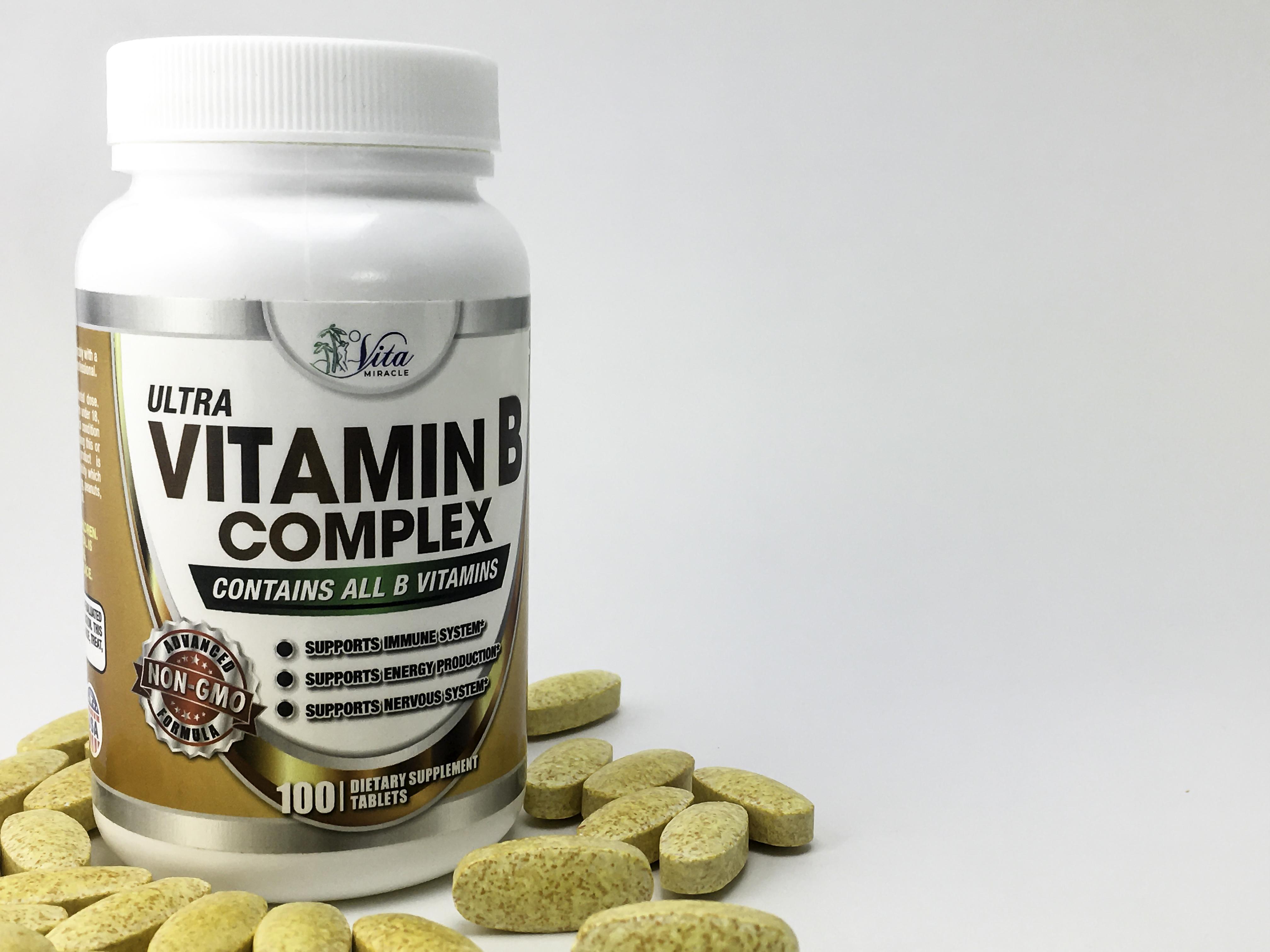 Vita Miracle Ultra Vitamin B Complex featured on StyleChicks.com