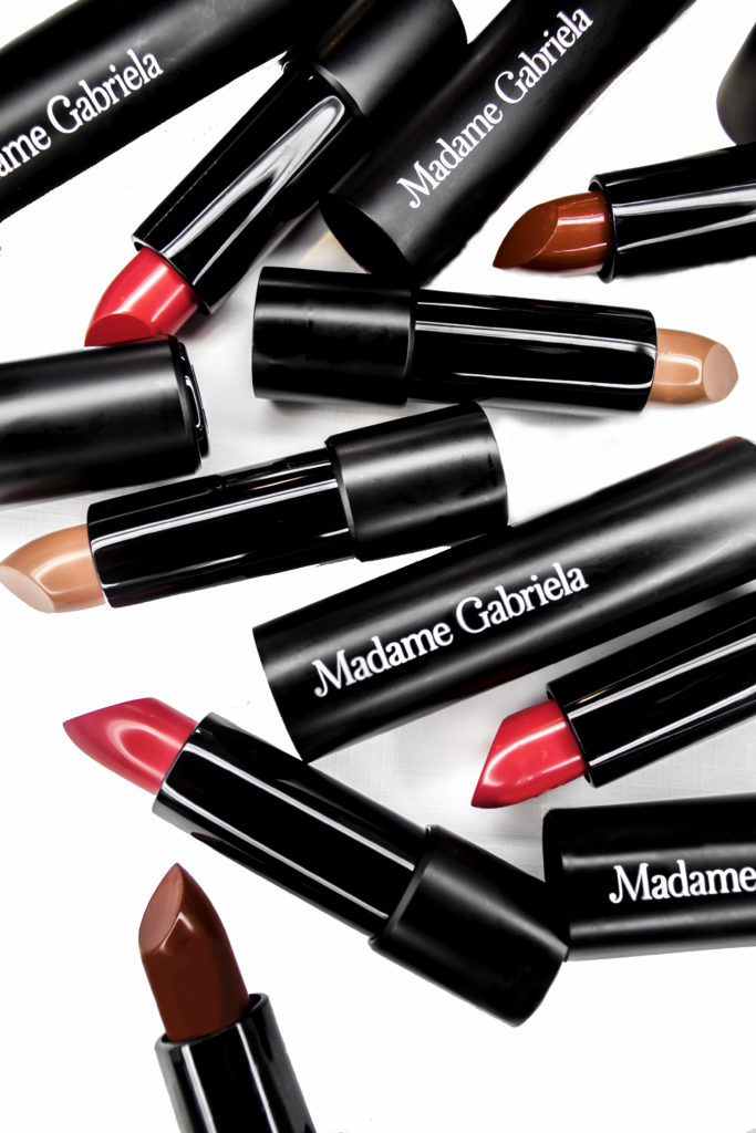 Madame Gabriela Clean Luxury Lipsticks