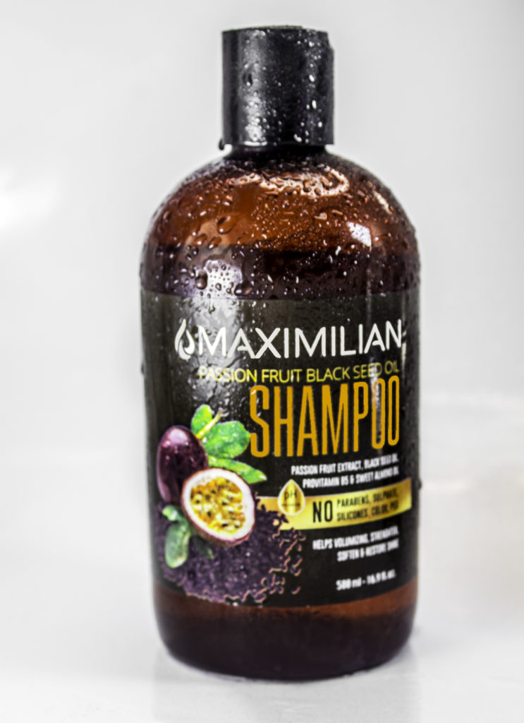 Hydrating shampoo for curly hair