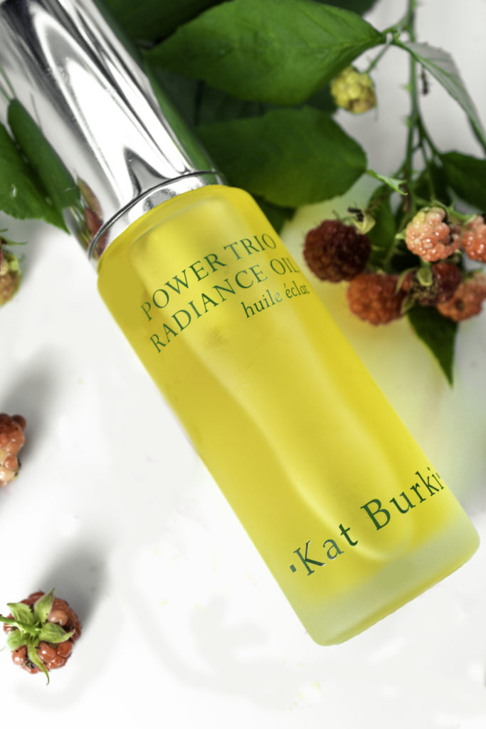 Kat Burki Power Trio Oil is a combo of three oils including raspberry seed oil