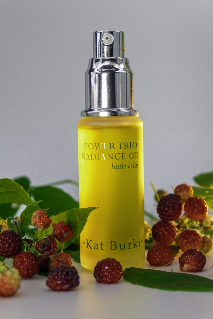 Kat Burki uses raspberry for collagen building