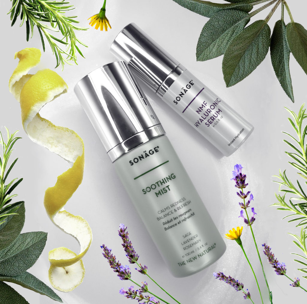 Sonäge uses scientifically proven botanicals for superior skincare