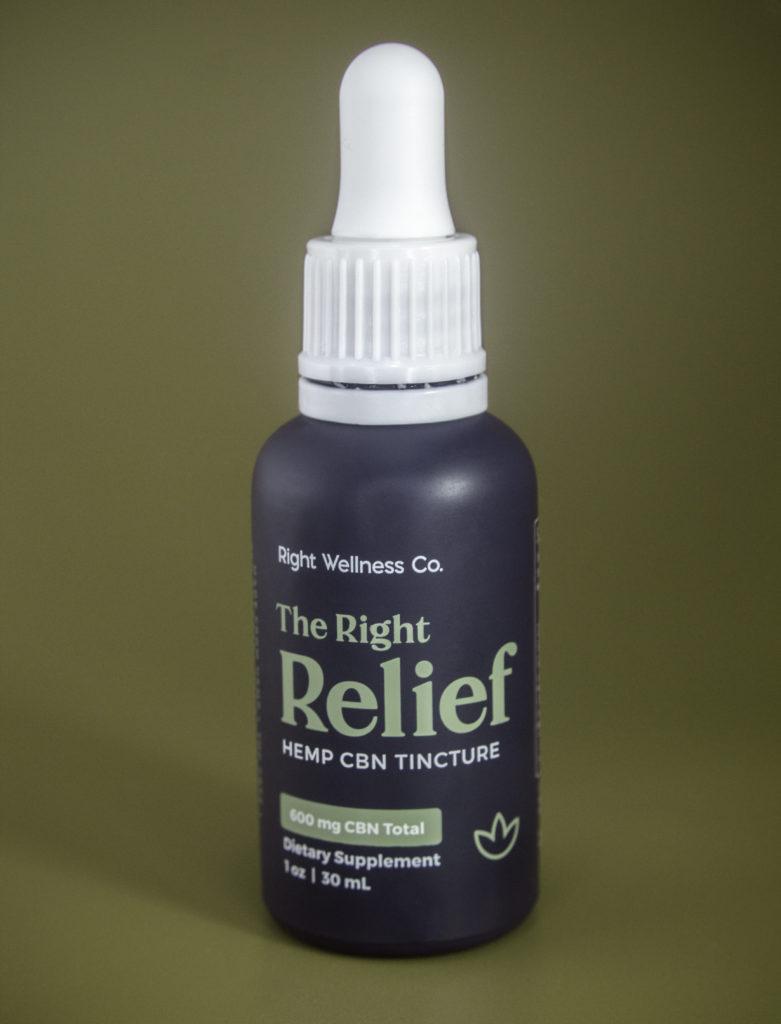 Right Relief Hemp CBN Tincture