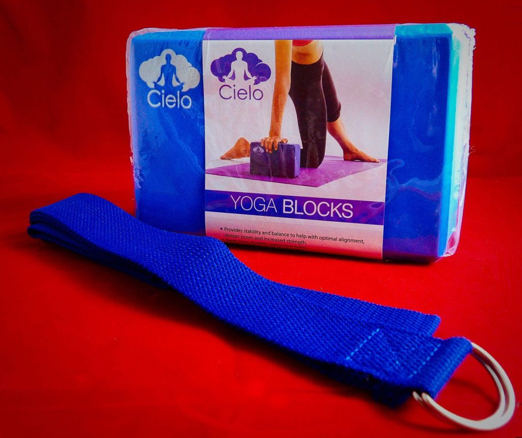 Cielo Yoga Block and Strap