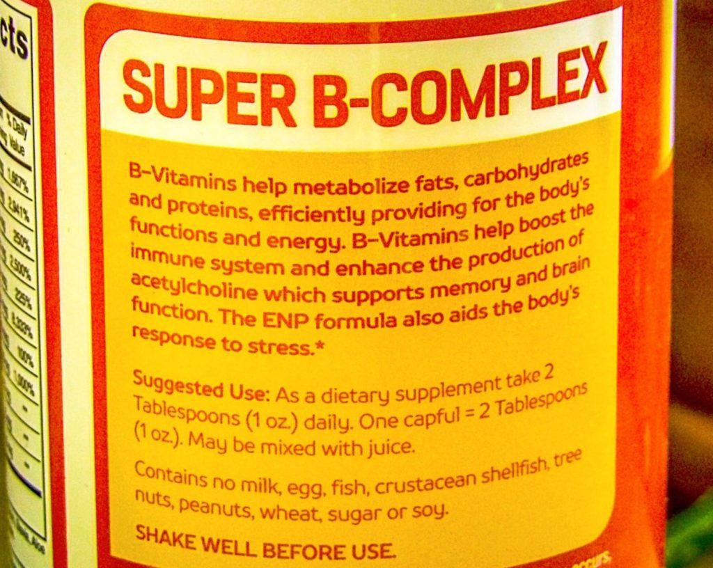 Effective Natural Products ENP Super B-Complex Liquid