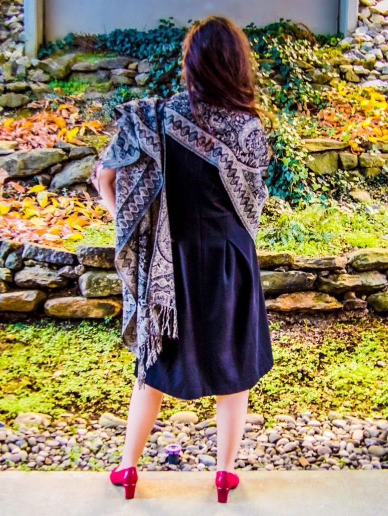 Jewel Silk Scarves Jamevar Wool Poncho