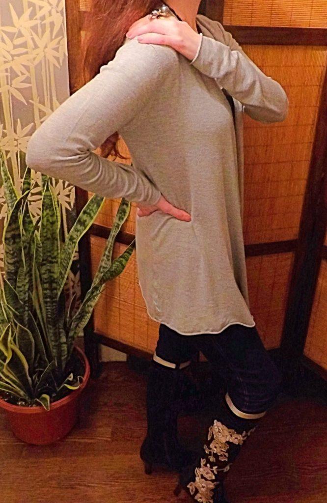 Zattcas Women's Long Sleeve Open Cardigan Sweater