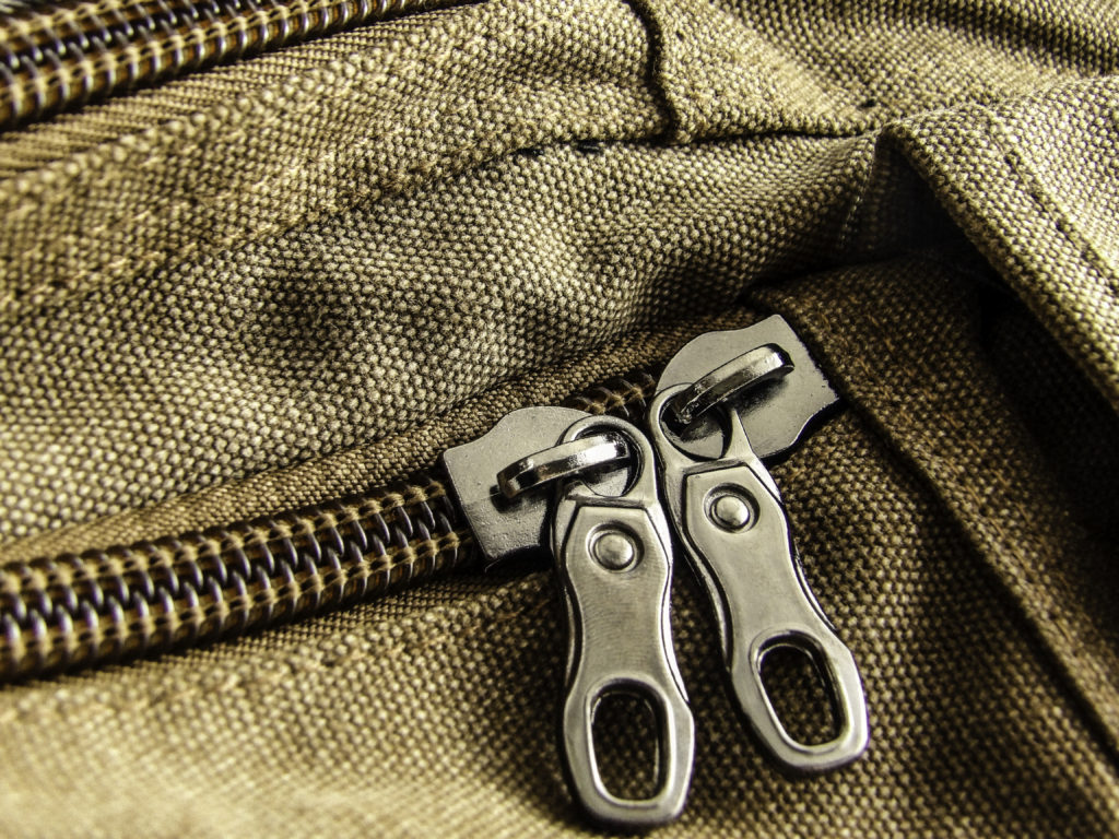 Large pull zippers