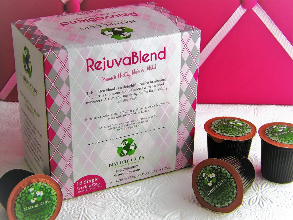 Rejuvablend coffee with Biotin has a rich, smooth taste with a hint of caramel