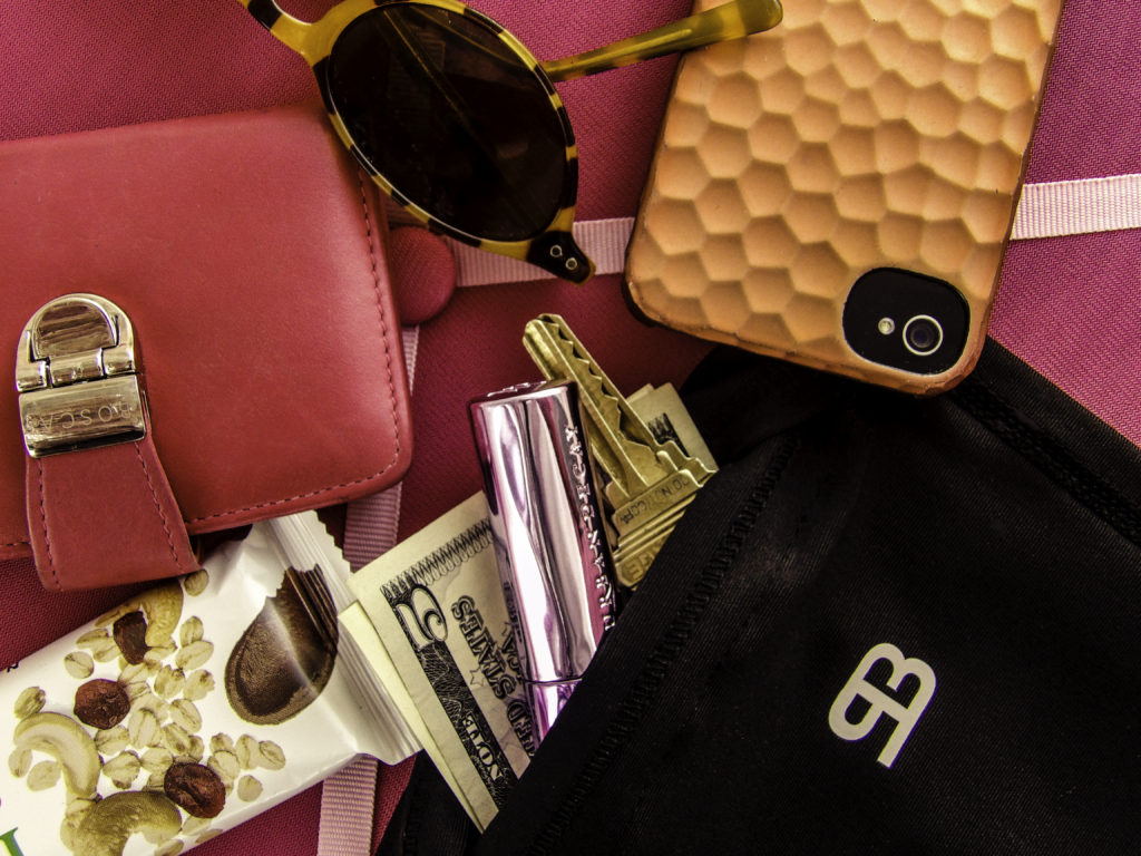 Carry essentials without a bag by wearing StashBandz