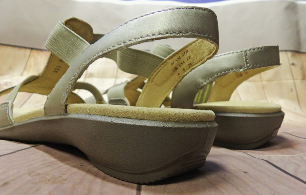 The 1 1/4 inch heel gives a bit of height