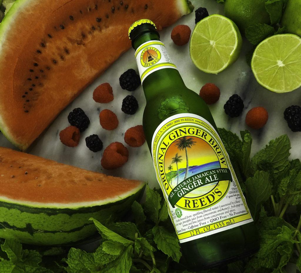 Summer fruits peak the Ginger Beer