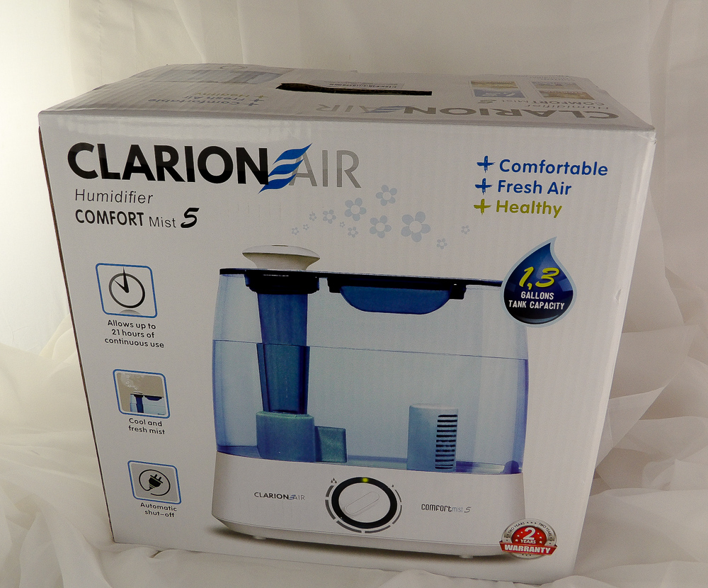 Beat Winter Beauty Blues Clarion Air Ultrasonic Cool Mist Automatic Humidifier