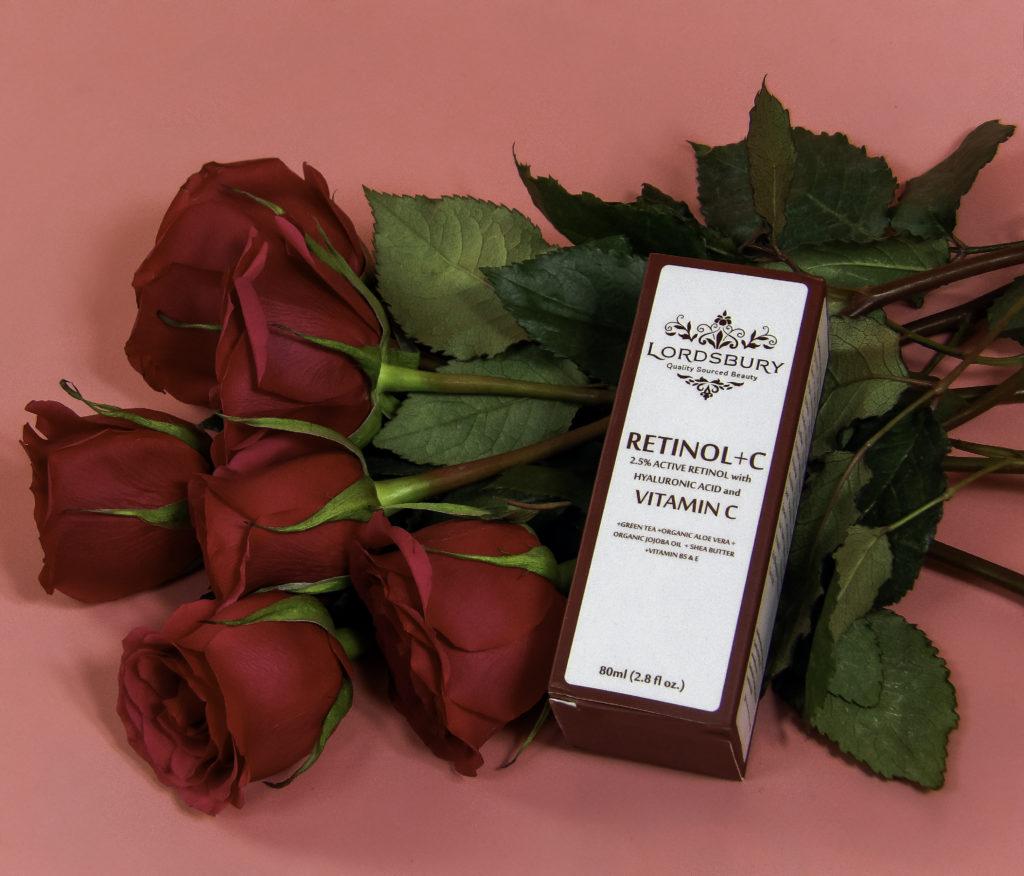 Lordsbury Retinol+C Cream Moisturizer contains both 2.5% pure Retinol and 20% Vitamin C Serum