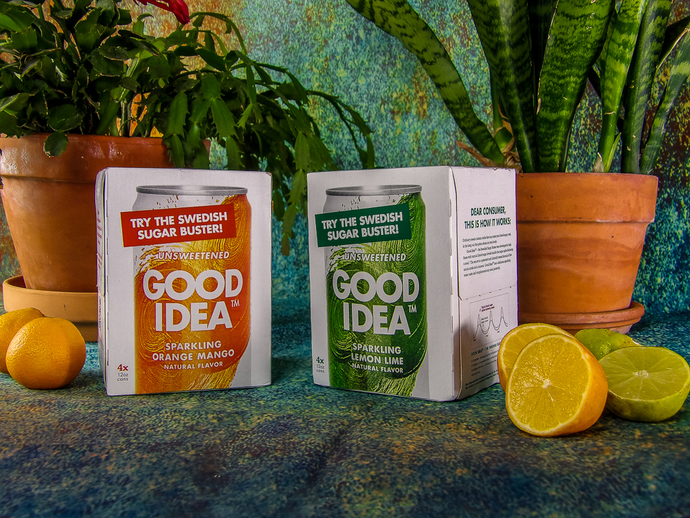 Good Idea has natural amino acids found in many foods, a mineral known to evenly control blood sugar levels, natural flavoring and no sugar