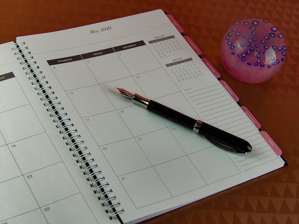 The highly attractive and useful Abrie James Planner