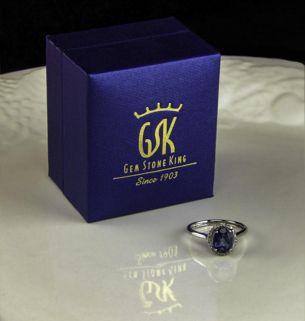 Gem Stone King Mystic Topaz Engagement Ring
