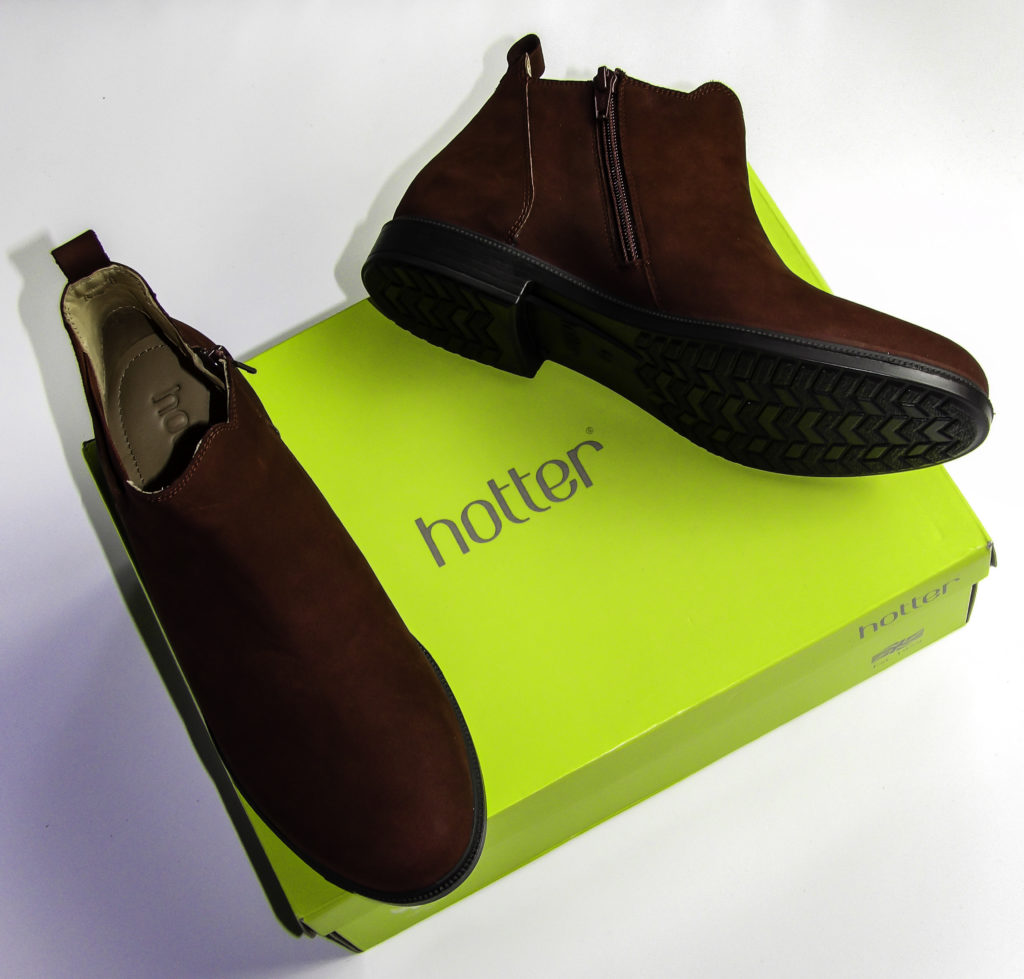 Hotter shoes and boots come with a 100% money back guarantee