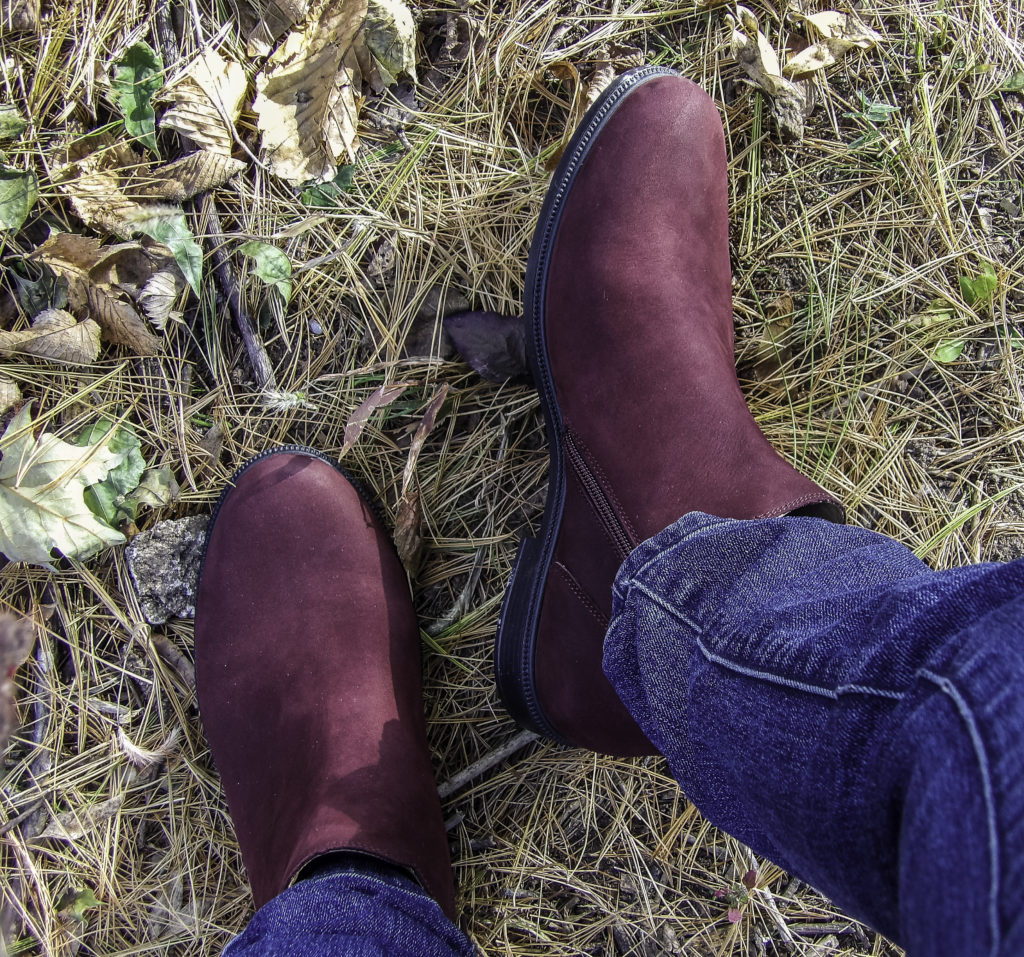 Hotter York Boot works well with jeans