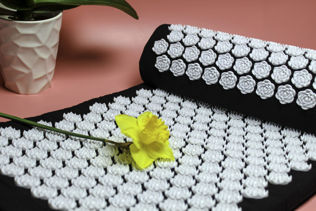 The Wellness Collection Acupressure Mat and pillow