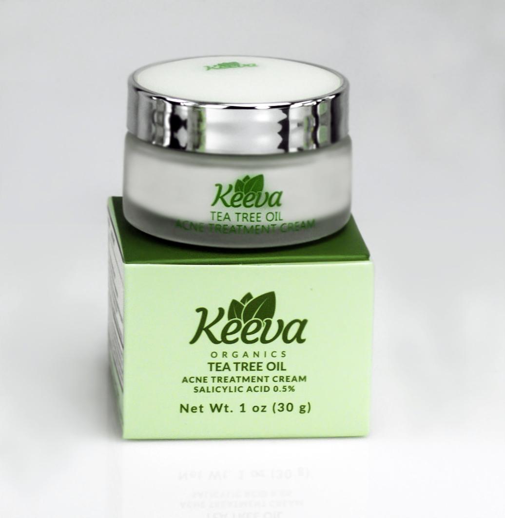 Find Keeva Organics Acne Treatment Cream at KeevaOrganics.com