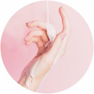 Body care includes moisturizing body skin
