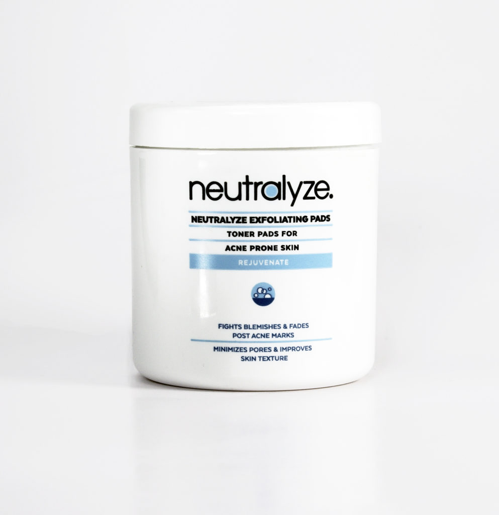 Neutralyze Exfoliating Pads for moderate to severe acne
