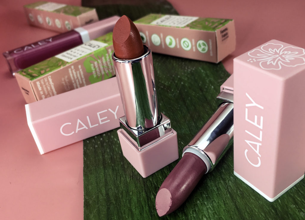 Caley Color Wave Natural Lipsticks deliver skincare serum quality ingredients and vibrant color payout