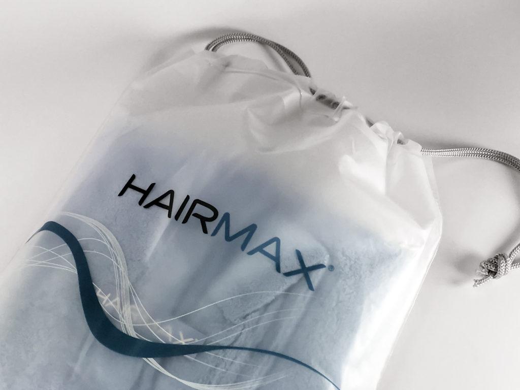 HairMax Hair towel drawstring bag