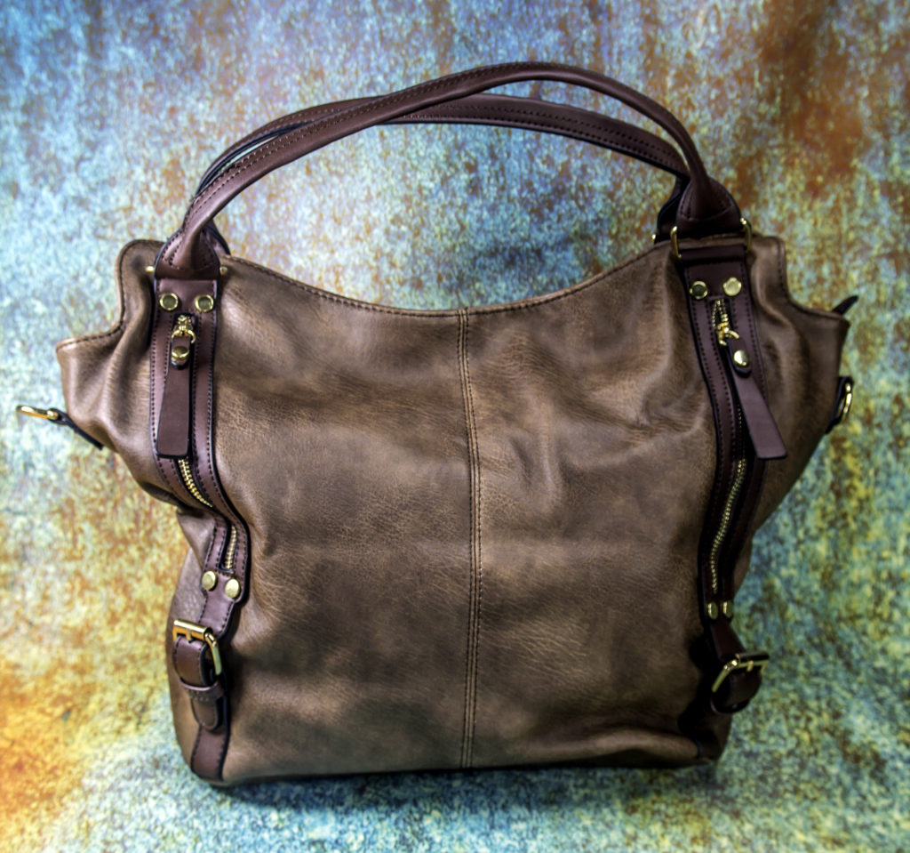 The Katherleen Tote is roomy, and lightweight