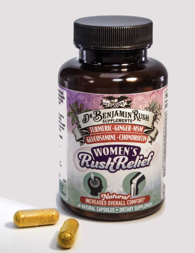 Two soft capsules daily reduces inflammation and optimizes function