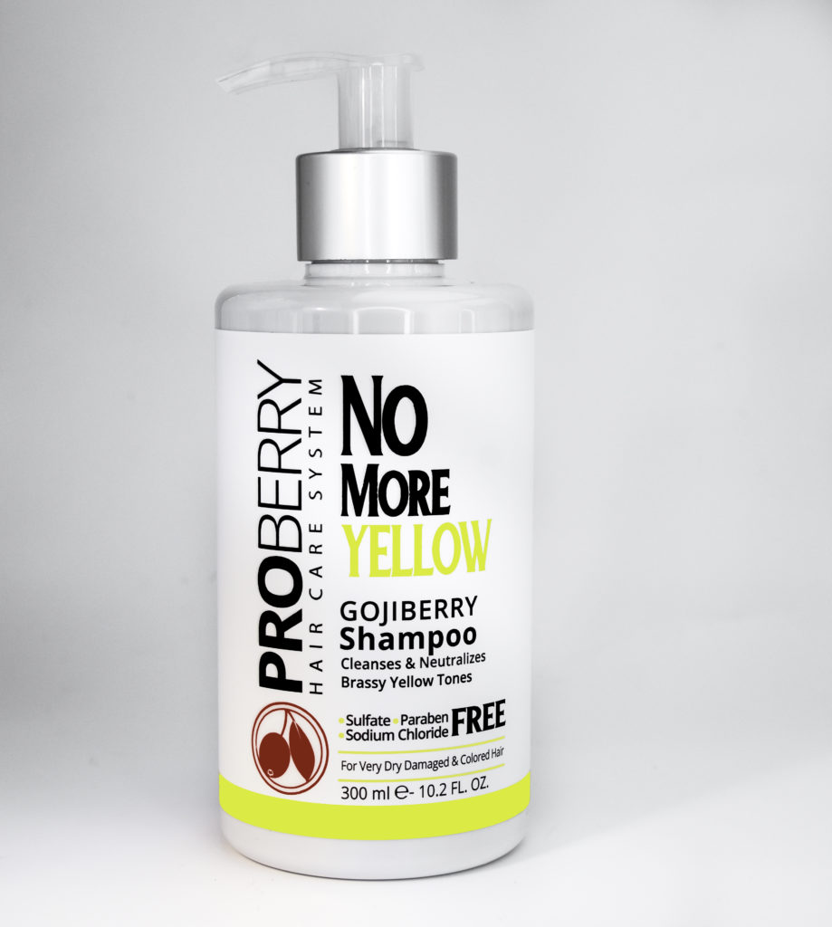 ProBerry No More Yellow Gojiberry Shampoo
