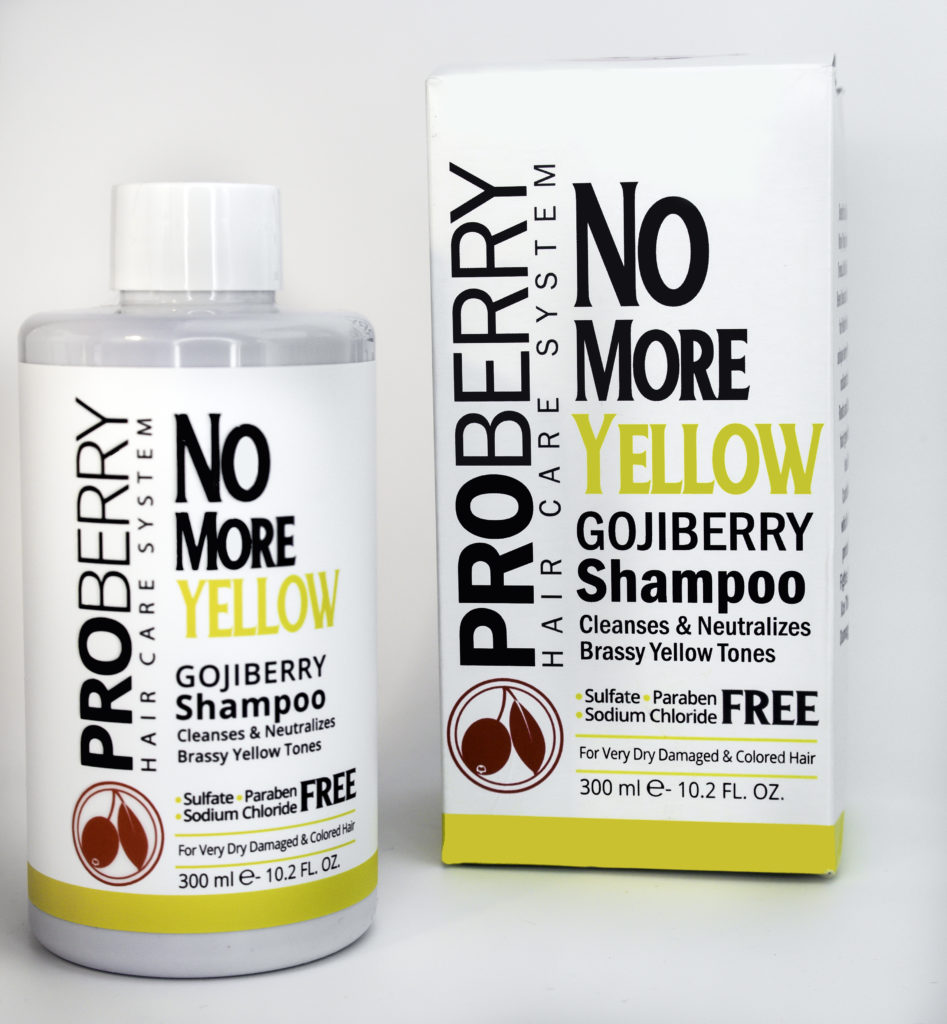 ProBerry No More Yellow Goji Berry Shampoo