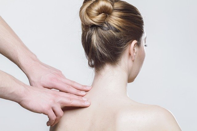 A massage therapist can treat trigger points that can cause neck, shoulder and head pain